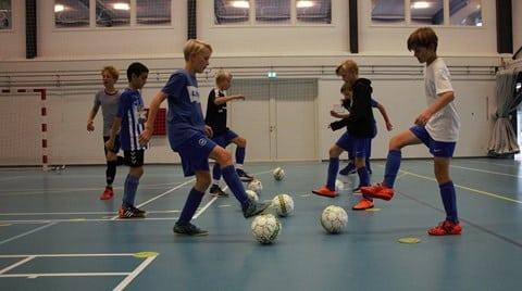Futsalskole på Rønde Efterskole